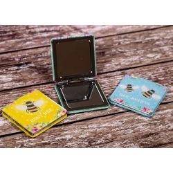 Bee themed Compact Mirrors - Three Themes To Choose