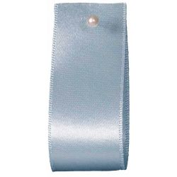 Double Satin Ribbon By Berisfords Ribbons: Saxe (Col 11) - 3mm - 70mm widths