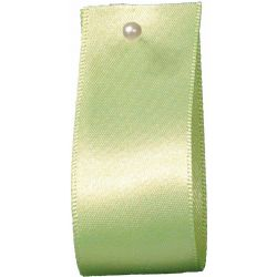 Double Satin Ribbon By Berisfords Ribbons: Lime (Col 6) - 3mm - 70mm widths