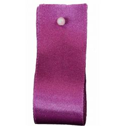 Double Satin Ribbon By Berisfords Ribbons: Plum (Col 49) - 3mm - 70mm widths