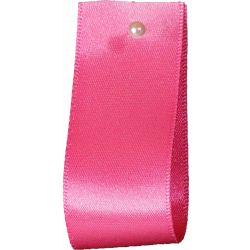Double Satin Ribbon By Berisfords Ribbons: Sugar Pink (Col 16) - 3mm - 70mm widths