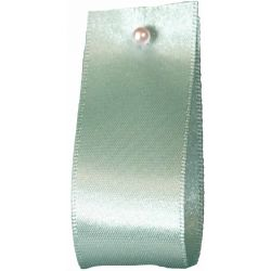 Double Satin Ribbon By Berisfords Ribbons: Aqua (Col 78) - 3mm - 70mm widths