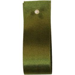 Double Satin Ribbon By Berisfords Ribbons: Cypress (Col 980) - 3mm - 70mm widths