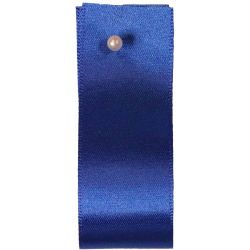 Newlife Double Satin Ribbon 100% Recycled Plastic: Dark Royal (Col 243) - 3mm - 70mm widths