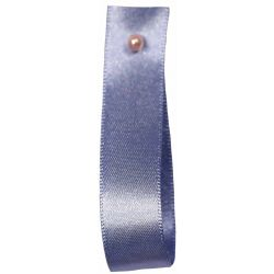 Double Satin Ribbon By Berisfords Ribbons: Dusky Blue (Col 61) - 3mm - 70mm widths