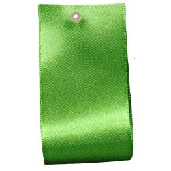 Double Satin Ribbon By Berisfords Ribbons: Emerald (Col 23)- 3mm - 70mm widths