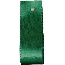 Double Satin Ribbon By Berisfords Ribbons: Hunter Green (Col 455)- 3mm - 70mm widths
