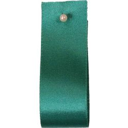 Double Satin Ribbon By Berisfords Ribbons: Jade (Col 68)- 3mm - 70mm widths