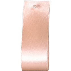 Double Satin Ribbon By Berisfords Ribbons: Peach (Col 71) - 3mm - 70mm widths