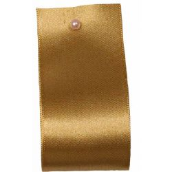 Double Satin Ribbon By Berisfords Ribbons: Straw (Col 6835)- 3mm - 70mm widths