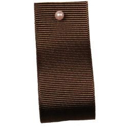 Grosgrain Ribbon Colour: CHOCOLATE 9669 - widths 6mm-10mm-16mm-25mm-40mm