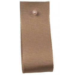Grosgrain Ribbon Colour: BONE 9638 - widths  6mm-10mm--16mm-25mm- 40mm