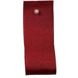 Grosgrain Ribbon Colour: CARDINAL 9341 - widths 6mm-10mm-16mm-25mm-40mm