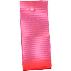Grosgrain Ribbon Colour: FLUORESCENT PINK 6845 - widths 6mm -10mm-16mm-25mm-40mm