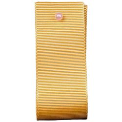 Grosgrain Ribbon Colour: GOLD 9075 - widths 6mm-10mm-16mm-25mm 40mm
