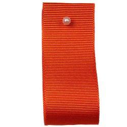 Grosgrain Ribbon Colour: TANGO 9139 - widths 6mm-10mm-16mm-25mm-40mm