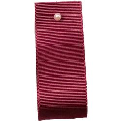 Grosgrain Ribbon Colour: WINE 9360 - widths 6mm-10mm-16mm-25mm- 40mm