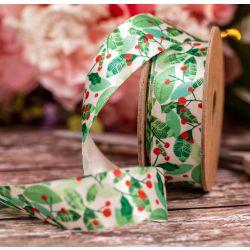 Mistletoe Ribbon 25mm x 4m By Berisfords Ribbons