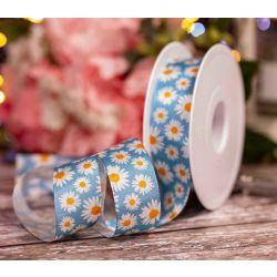 Sublimation printed Christmas Ribbon