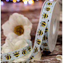 blue bumble bee ribbon