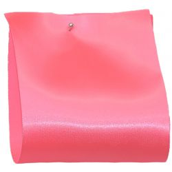 100mm x 50m Single Satin Wide Ribbon  col: Candy Pink