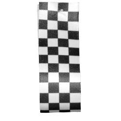 Checkered Flag Ribbon 25mm x 20m