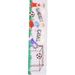 Football Fan Ribbon 25mm x 25m