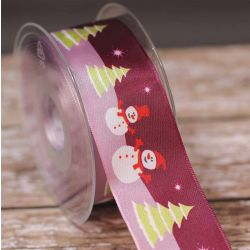 Christmas Dreams - Snowman Ribbon