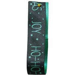 Christmas Magic Ribbon Green 25mm x 25m