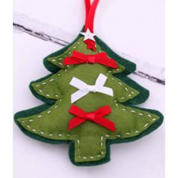 Christmas Tree Embellishment Felt Kit