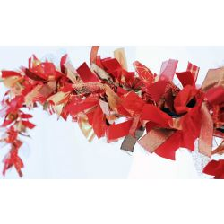 Christmas Ribbon Garland Kit