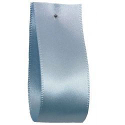 Shindo Double Satin Ribbon Pale Blue (Col:082) - 3mm - 38mm widths