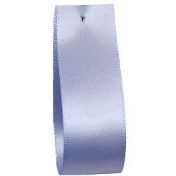 Shindo Double Satin Ribbon Cornflower Blue (Col:127) - 3mm - 38mm widths