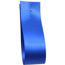 Shindo Double Satin Ribbon Royal Blue  (Col:128) - 3mm - 50mm widths