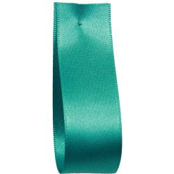 Shindo Double Satin Ribbon Turquoise Green (Col:174) - 3mm - 38mm widths