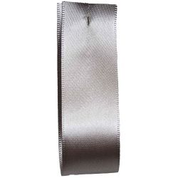 Shindo Double Satin Ribbon Ideal For Wedding Car Decoration - Silver (Col:181) - 38mm - 50mm widths