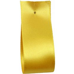 Shindo Double Satin Ribbon Yellow Gold (Col: 032) - 3mm - 50mm widths