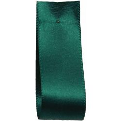 Shindo Double Satin Ribbon Forest Green (Col: 039) - 3mm - 50mm widths