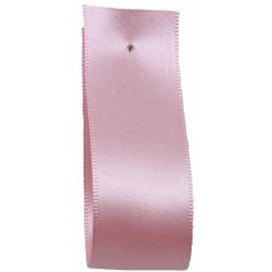 Shindo Double Satin Ribbon Sugar Pink (Col: 041) - 3mm - 50mm widths