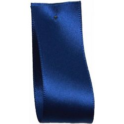 Shindo Double Satin Ribbon Ideal For Wedding Car Decoration - Light Navy  (Col:084) - 38mm - 50mm widths