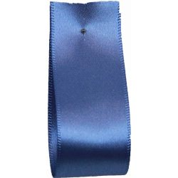 Shindo Double Satin Ribbon Saxe Blue  (Col:090) - 3mm - 38mm widths