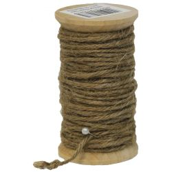 Jute Rope 2mm x 15m Dark Natural