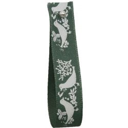 Green Turtle Dove Ribbon 15mm x 4m