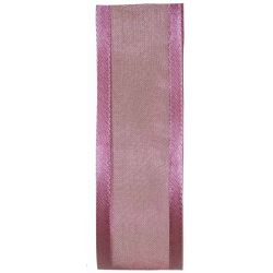 25mm Dusky Pink Satin Edged Sheer