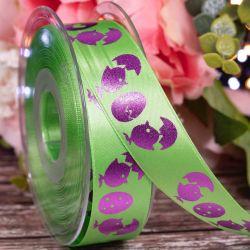 25mm Green Easter Ribbon