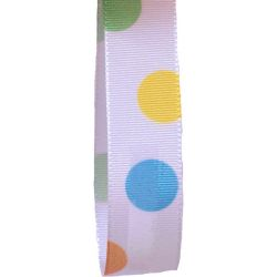 Dotty Easter Ribbon 15mm