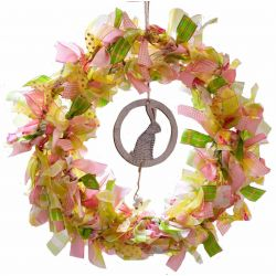 Design Your Own Summer Themed Ribbon Wreath Kit