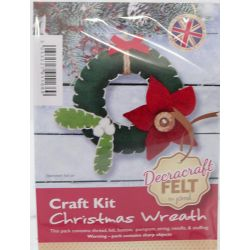 Wreath Themed Felt Kit