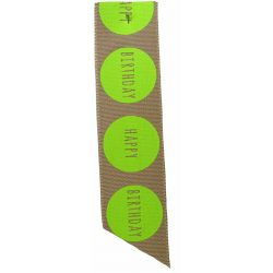 Natural Big Dot Flo Green - Article 14466