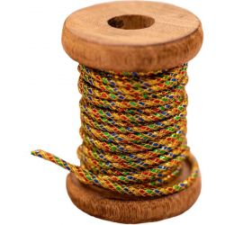Gold Multi Coloured Cord